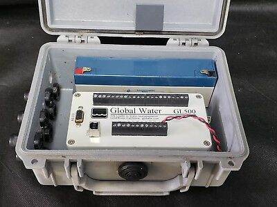 Global Water GL500-7-2 Multichannel Data Logger w/ Case