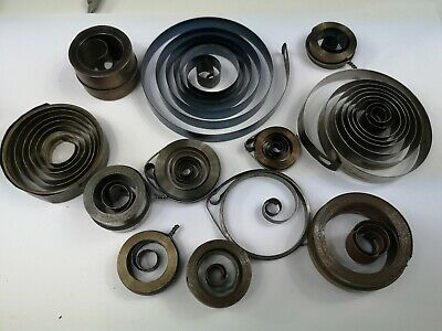 Job Lot Vintage Clock Mainsprings - Useful Spares For Antique Clock Repair
