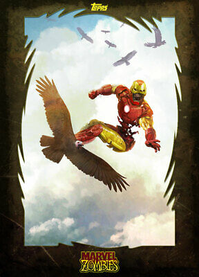 Topps Marvel Collect Iron Man MARVEL ZOMBIES [DIGITAL] 1000cc