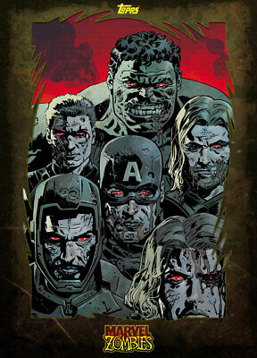 Topps Marvel Collect The Avengers MARVEL ZOMBIES [DIGITAL] 1000cc