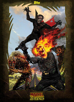 Topps Marvel Collect Man-Thing - Ghost Rider MARVEL ZOMBIES [DIGITAL] 1000cc