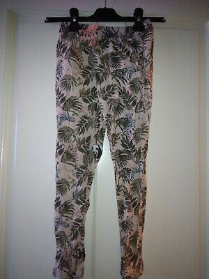 H&M Girls Safari Trousers Aged 6-7 Years