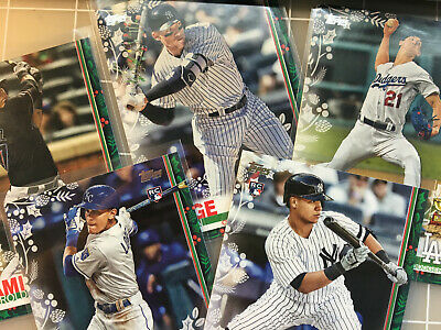 2019 TOPPS HOLIDAY BASEBALL ( 1-200) U-PICK COMPLETE YOUR SET ~ Best Price