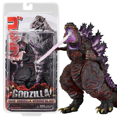 "NECA Shin Godzilla Atomic Blast 2016 6"" Action Figure 12"" Head To Tail Movie New"