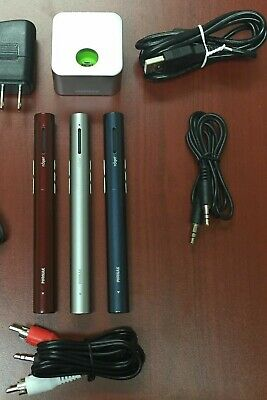 Phonak Roger  Pen 1.1  Wireless Microphone With Charging  Base & Power Supply