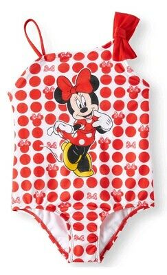 Girls 2T Minnie Mouse One Piece Swimsuit