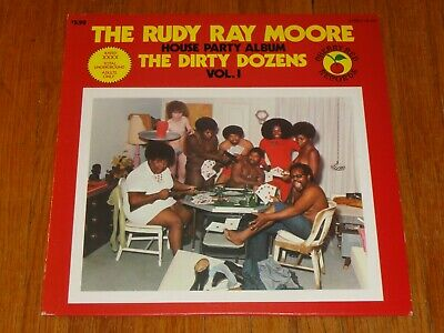 RUDY RAY MOORE The Dirty Dozens House Party Album Vinyl Record 1971 DOLEMITE
