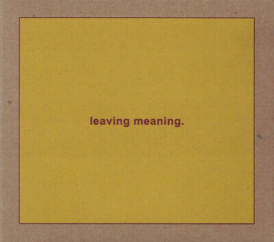 Swans - Leaving Meaning 2 x CD - SEALED New Post Rock Album