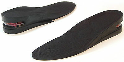 """Full length Orthotic Shoe Insoles Height up 2"""" Heels Pain Flat Feet Foot Care"""