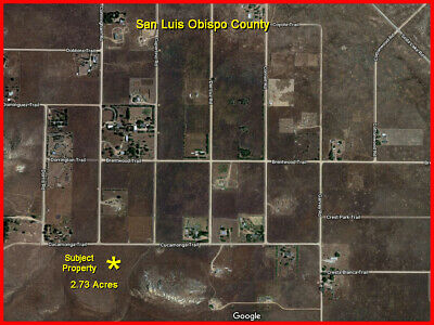 2.73 Acre Ranch, Western Cal Valley, Road Access, Near Homes, Good Water Table