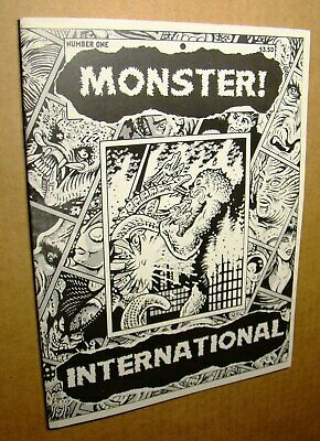 Monster! International One 1 *Vf/Nm 9.0 Or Better* Famous Classic Horror Zombie