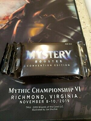 Mystery Booster Pack! Convention Edition Magic the Gathering Magicfest Richmond