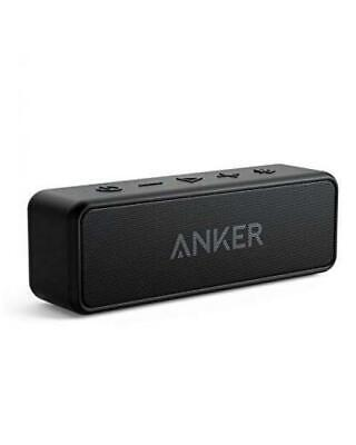 [Upgraded] Anker Soundcore 2 Portable Bluetooth Speaker with 12W Stereo Black