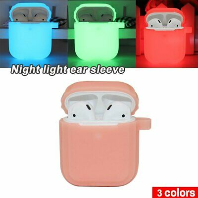 Glow in the Dark Silicone Case for Apple Airpods Protector Cover Earphone IU