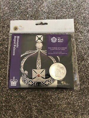 2019 Tower Of London The Crown Jewels Uk Royal Mint £5 Bu Coin Presentation Pack
