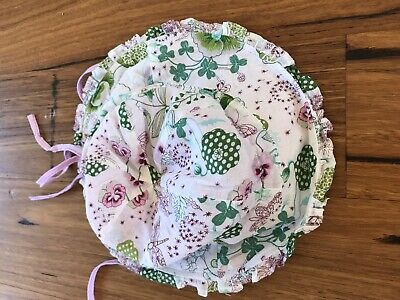 Toshi Girls Floral Sun Hat Size M Great Condition