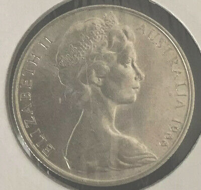 1966 Australia Round Fifty 50 Cent Coin (80% Silver) - Brilliant Coins