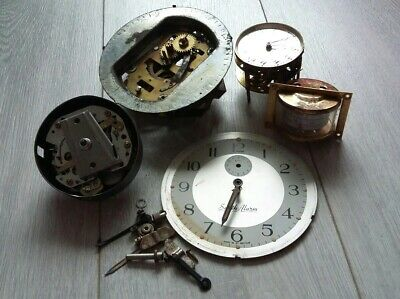 Vintage Clock Parts - Job Lot Clock Parts for Repairs