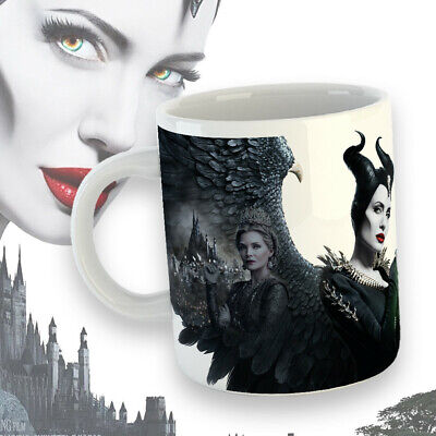 Maleficent Tazza Mug Colazione Malefica Angelina Jolie Film Cinema idea regalo