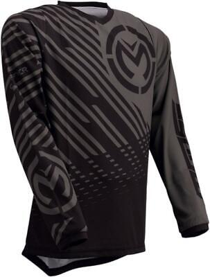 Maglia Moto Cross Enduro Quad Moose Racing Qualifier Gray Black