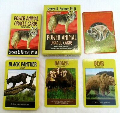 Power Animals..oracle..cards..practical Powerful Guidance..animal Spirt Guide