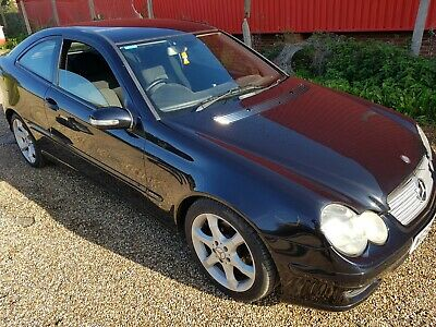 Mercedes C200 Cdi Sport Auto Coupe, New M.o.t, Below Avg Miles, Lovely Condition