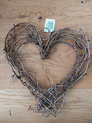 Heart wreath frame for decoration or craft