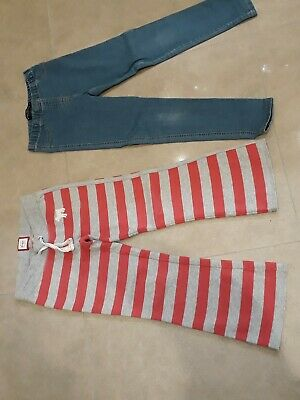 Girls Mini Boden Bundle. Trousers X 2. Age 8 Years. Good Condition.