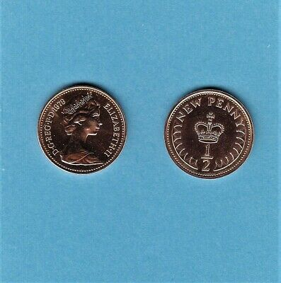 1979 1/2p Half Pence Proof Coin - From Royal Mint Set (Free Post)