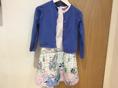 Joules Dress And Next Cardigan Age 5 Years