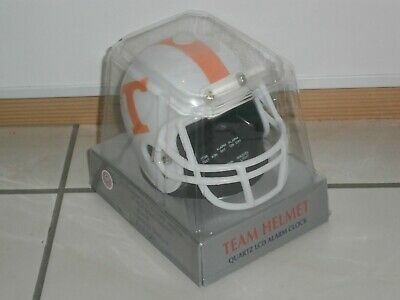"Réveil ""casque de foot US"" des Tennessee Volunteers NCAA"