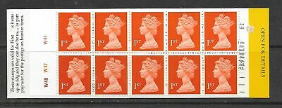 1996 HD37 BOOKLET WITH 10 X 1st MACHINS ICED CAKES COVER CYLINDER W49 W37 W41