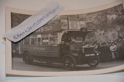 1949 Photo Of London Veteran Bus S742 In Lord Mayors Procession Ref L321
