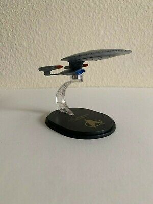 Star Trek The Next Generation Qmx Mini Masters USS Enterprise NCC-1701 D Replica