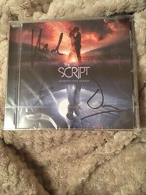 The Script - 'Sunsets & Full Moons' CD (2019) *SIGNED BY THE BAND* new / sealed