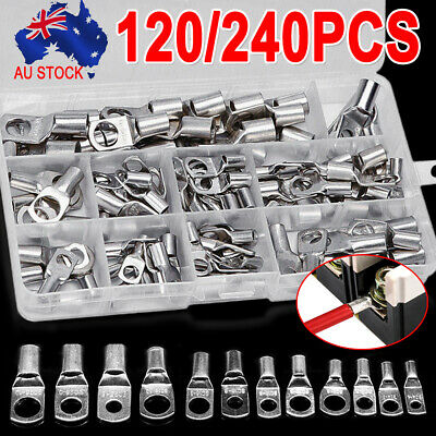 240X 4WD Copper Cable Lugs Crimper Connector Kits Battery Terminal SC6-6~SC50-12