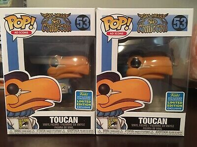 Funko POP! Ad Icons #53 Toucan SDCC 2019 50th Anniversary Summer Convention Excl