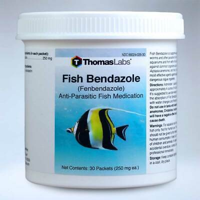 Fish Bendazole 250 mg 30 Packets - FREE SHIPPING