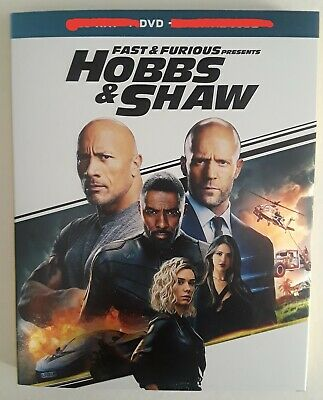Fast And Furious Presents HOBBS & SHAW DVD/Slipcover NO BLU RAY NO DIGITAL