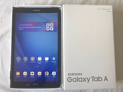 Samsung Galaxy Tab A SM-T580 16GB, Wi-Fi, 10.1in - Black