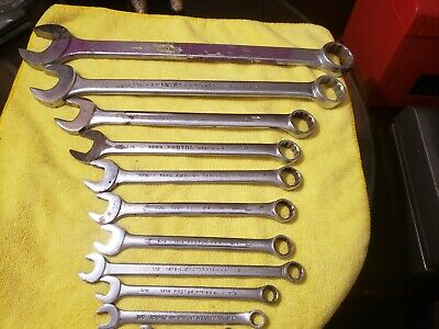11pc proto combination wrench standard 12pt 6140 1234 1228 1224 1222 1220 1218