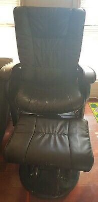 Babyhood Glider Chair And Ottoman - Feeding/ Nursing Rocking Chair Black