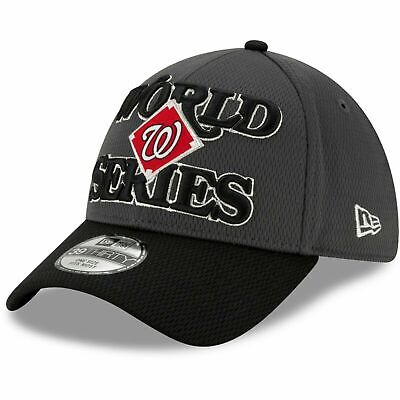 2019 Washington Nationals New Era 39THIRTY World Series Locker Room Cap Hat