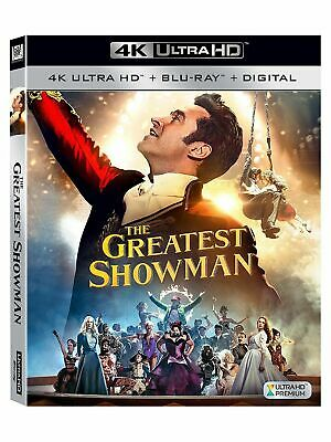 The Greatest Showman [Blu-ray], DVD, , , Excellent