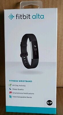 BRAND NEW Fitbit Alta Sporty Activity Tracker Fitness Wristband - Black Small