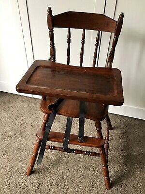 Vintage Timber High Chair