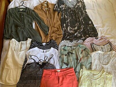 Bulk Ladies Clothes 14 Items Witchery, SABA, VM and Country Road Size Small (10)