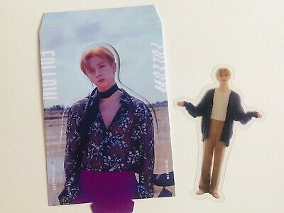 MONSTA X FOLLOW Find You IM Changkyun Paperstand Bookmark Photo Card photocard