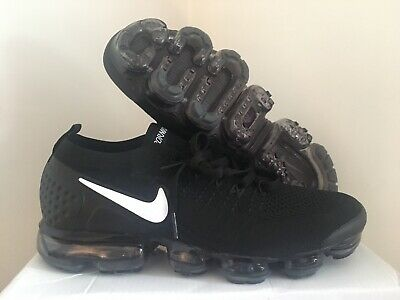 Nike Air Vapormax Flyknit 2 Men's Running Shoes Black White 942842-001 Size 10