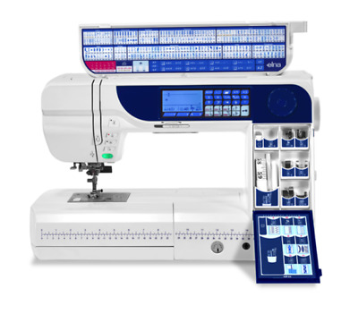 Elna eXcellence 760 pro Mid Arm Computerized Sewing Machine New no box